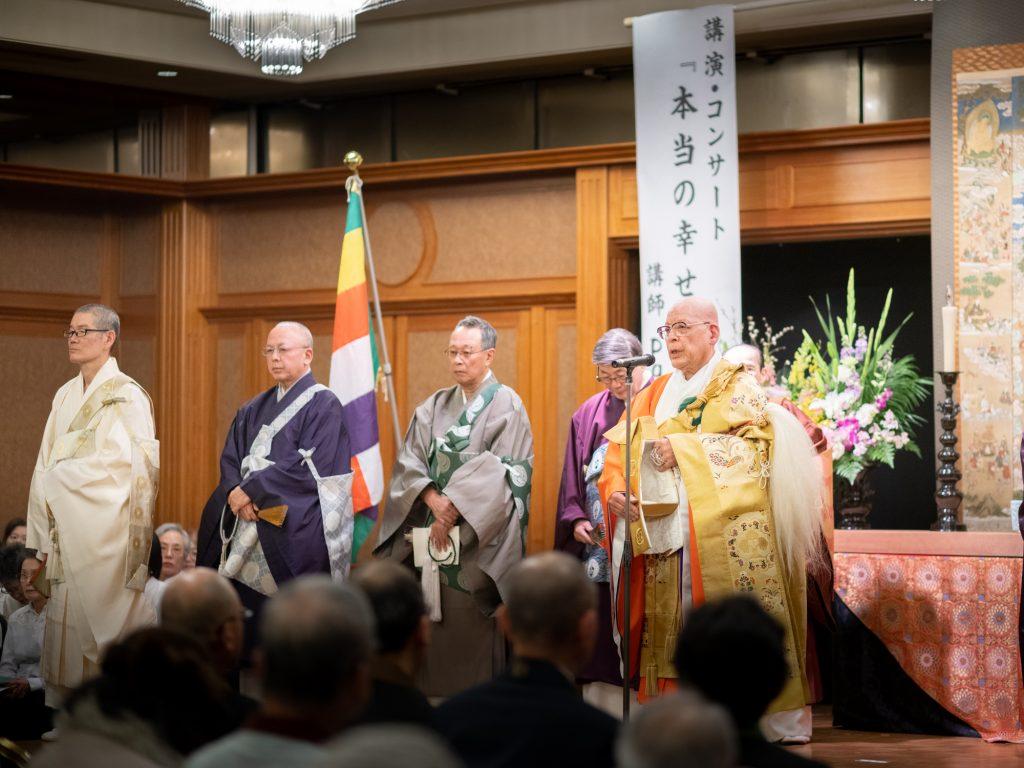 豊中市仏教会会長の挨拶