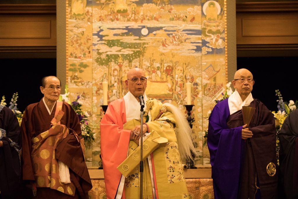 豊中仏教会会長 挨拶